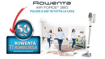 Rowenta Air Force 360 ti rimborsa