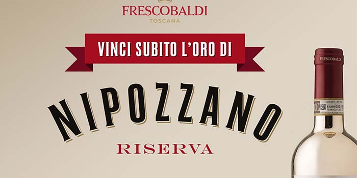 Vini Nipozzano: vinci subito 100 bottiglie