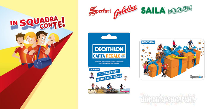 Sperlari carta regalo Decathlon