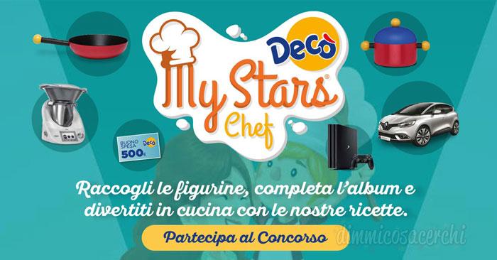 """Supermercati Decò: concorso """"My Stars Chef"""""""