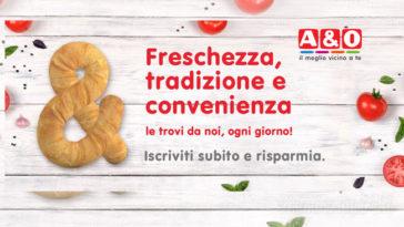Supermercati A&O: buoni sconto e offerte