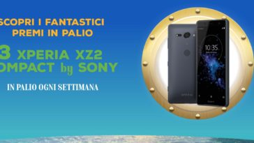 Concorso Golosino: vinci Sony Xperia