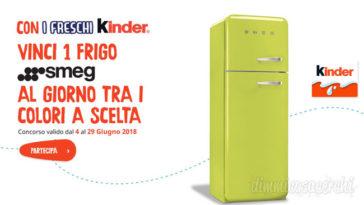 Vinci frigorifero Smeg Kinder