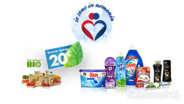 "Carrefour e Henkel: ""io sono in armonia"""
