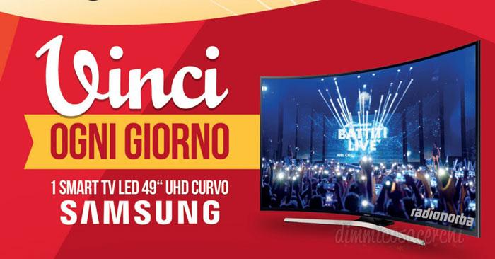 Concorso Dreher vinci tv Samsung