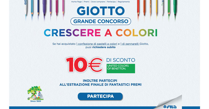 """Concorso Giotto """"Crescere a colori"""""""
