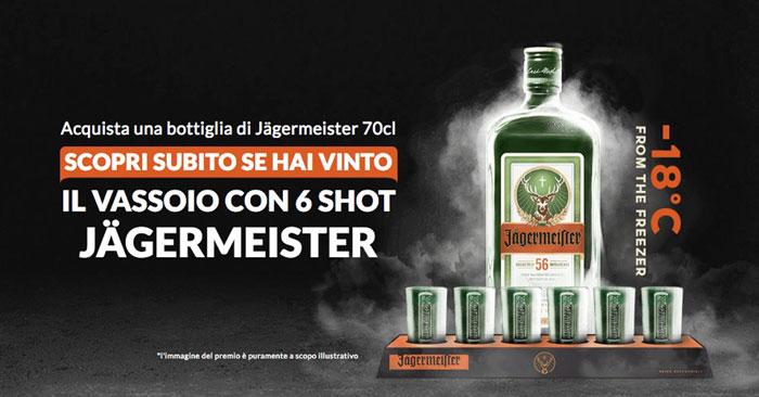 ConcorsoJagermeister: vinci vassoio e bicchieri