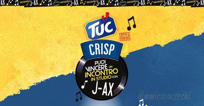 Concorso Tuc Crisp vinci J-AX
