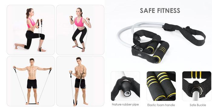 Fascia elastica per esercizi sconto Amazon