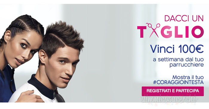 Head&Shoulders: vinci 100€ a settimana dal parrucchiere