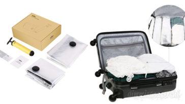 Kit per sottovuoto con sacchetti