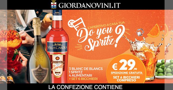 "Offerta ""Spritz"" Giordano Vini"