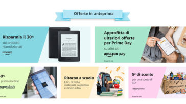 Offerte anticipate Amazon Prime Day