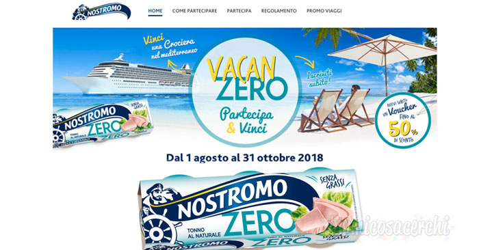 Vacanzero: nuovo concorso Nostromo