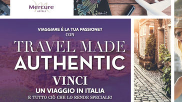Vinci Polaroid e travel kit con Mercure Hotels