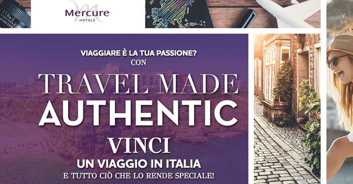 Vinci Polaroid e travel kit con Mercure Hotels