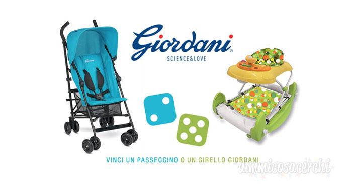 Vinci passeggino o girello Giordani