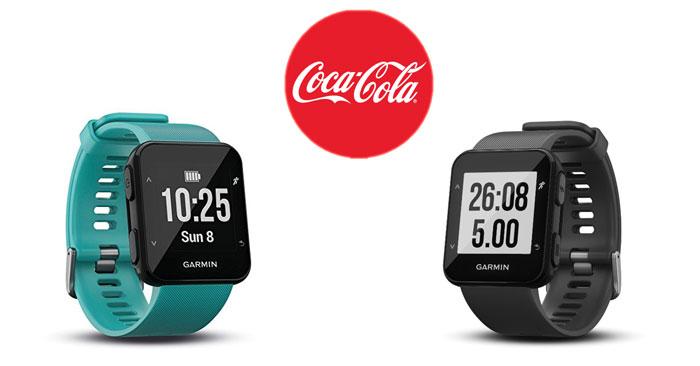 Vinci smartwatch con Coca-Cola