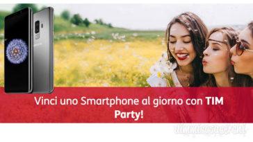 Vinci uno smartphone con TIMParty