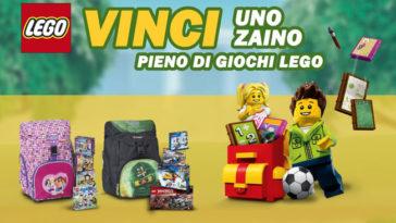 Vinci zaino giochi Lego