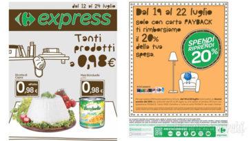 Volantino Carrefour Express