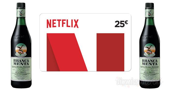 Concorso Brancamenta: vinci carte regalo Netflix