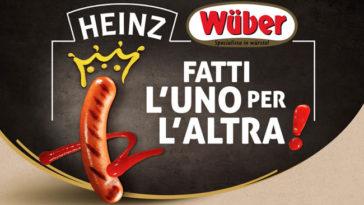 """Concorso """"Fatti l'uno per l'altra"""" Wuber e Heinz"""