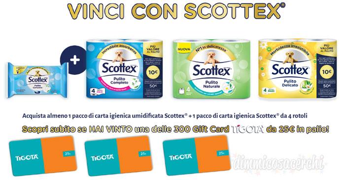 """Concorso """"Vinci con Scottex"""""""