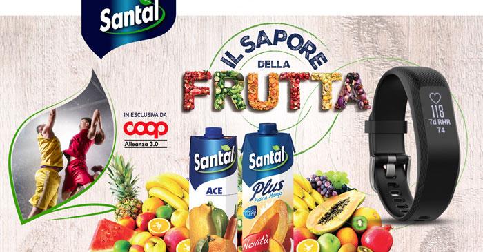 Il sapore della frutta Santal