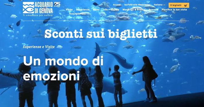 Come si ottengono sconti sui biglietti per andare all'acquaio di Genova? Segui il link e risparmia subito!