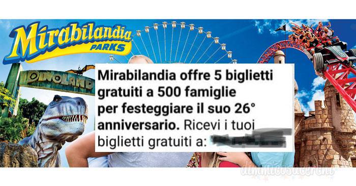 Mirabilandia regala 500 biglietti