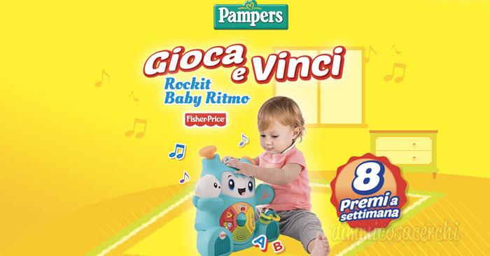 Pampers: gioca e vinci Rockit Baby Ritmo
