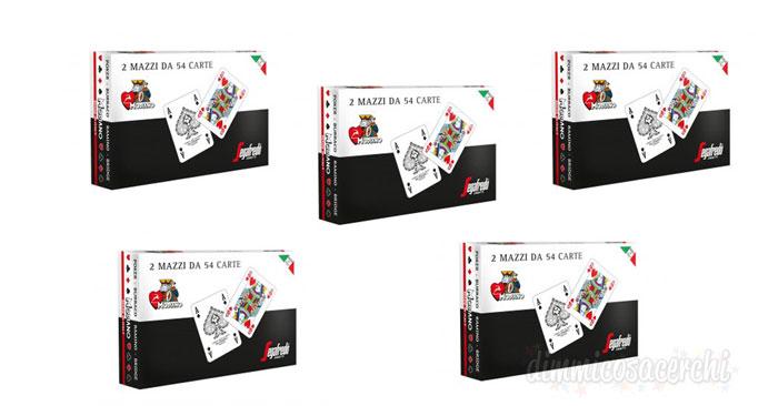 Rivista Dipiù con carte Segafredo Zanetti