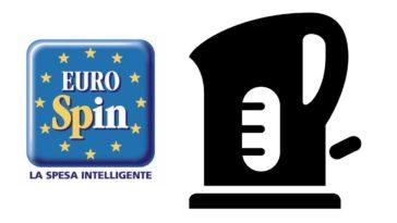 Da Eurospin Bollitore elettrico a solo 1 euro