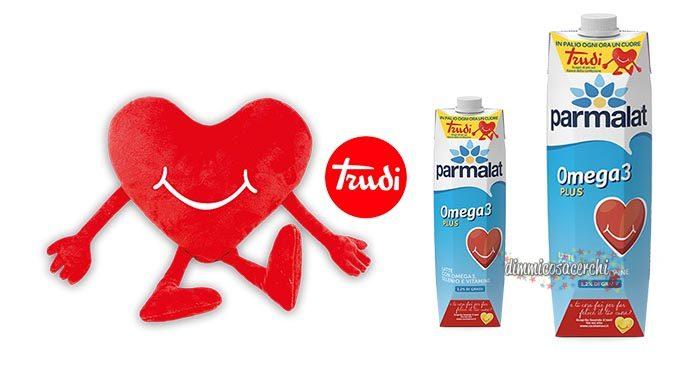 Concorso Parmalat: vinci peluche Trudi a forma di cuore!