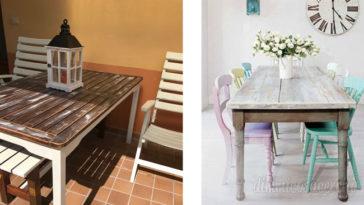 Come realizzare un tavolino in stile shabby