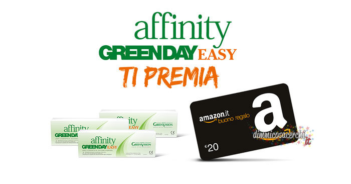 Affinity Greenday ti regala buono Amazon da 20,00€