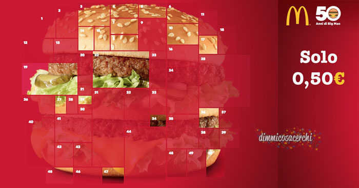 Big Mac festeggia 50 anni