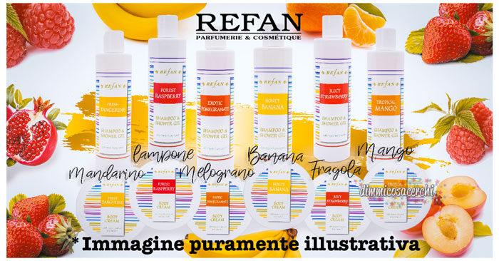 Campione omaggio prodotti Refan