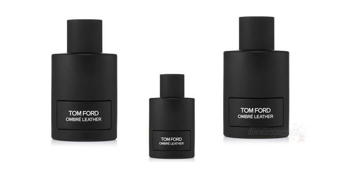 Campione omaggio profumo Tom Ford Ombré Leather
