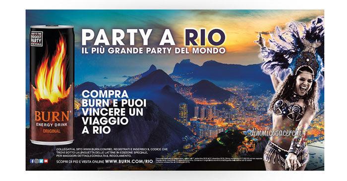 Concorso Burn: vinci viaggio a Rio de Janeiro!