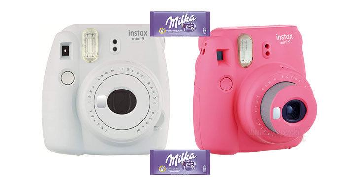 Concorso Milka: vinci Instax Camera Mini9 di Fujifilm