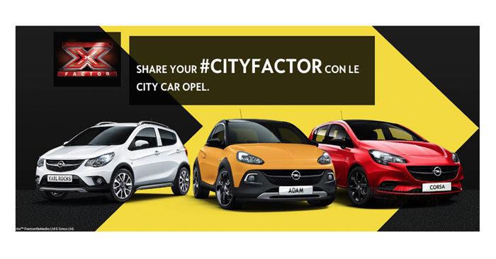 """Concorso Opel """"City Factor"""""""