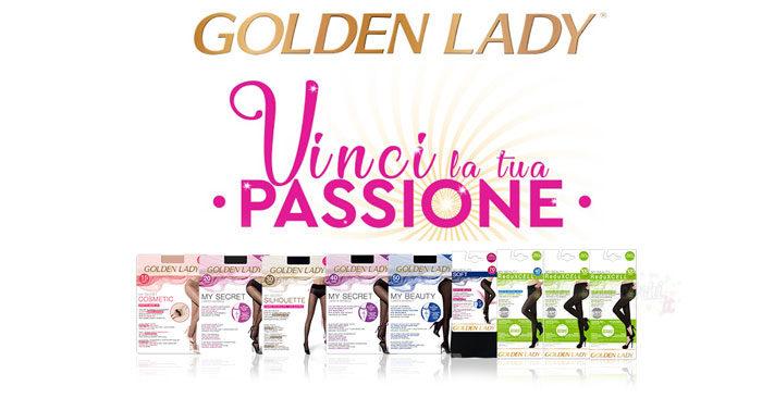 """Concorso """"Vinci la tua passione"""" Golden Lady"""