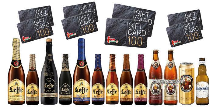 Concorso birra Leffe