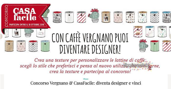 Diventa designer con Caffè Vergnano