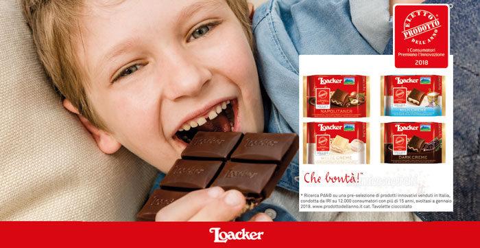 Diventa tester Cioccolato Loacker con The Insiders