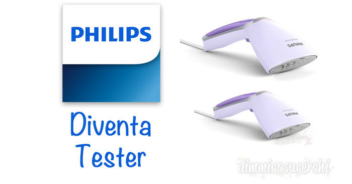 Philips Steam&Go Plus: diventa tester per Philips