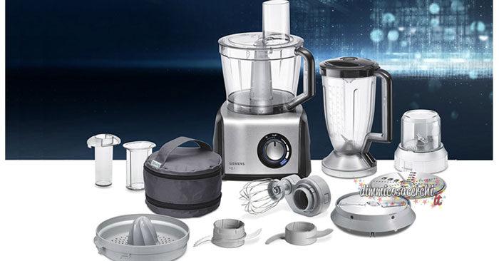 Recensioni prodotti Siemens: in regalo un robot da cucina Siemens MK3501M