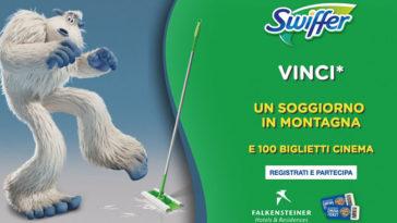 Swiffer: vinci montagna biglietti cinema